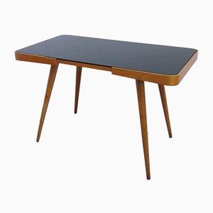 Table Basse Opaxit Noire en Verre par Jiří Jiroutek pour Interier Praha, années 60