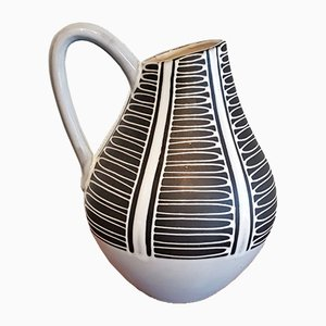 Vaso nr. 209/27 Mid-Century di Liesel Spornhauer per Schlossberg Keramik