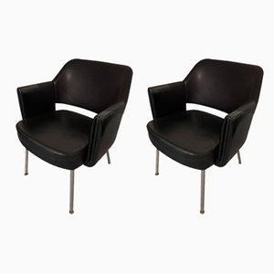Lounge Chairs by Marc Simon for Airborne, 1960s, Set of 2