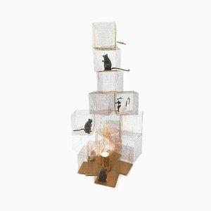 Lampada da tavolo Seven Rats di Ingo Maurer, inizio XXI secolo