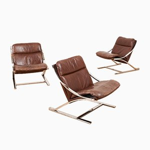 Mid-Century Model Zeta Lounge Chair by Paul Tuttle for Strässle, 1960s