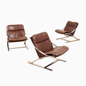Mid-Century Model Zeta Lounge Chair by Paul Tuttle for Strässle, 1960s