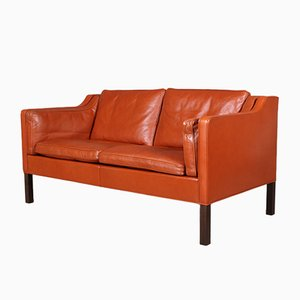 2-Sitzer Sofa von Børge Mogensen für Fredericia, 1970er
