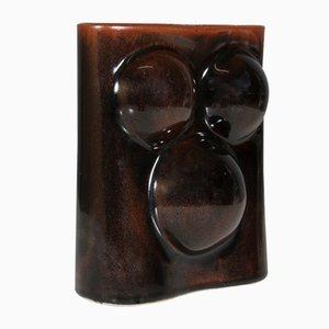Vase von Tue Poulsen für Knabstrup, 1960er