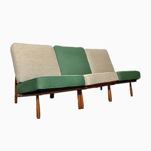 Swedish Model Domus One Lounge Chairs by Alf Svensson for Dux, 1950s, Set of 3
