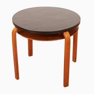 Tavolino nr. 70 in betulla e compensato di Alvar Aalto per Wohnbedarf, anni '30