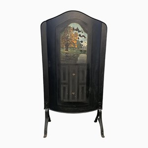 Antique Art Nouveau Fire Screen