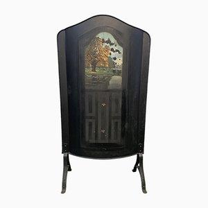 Écran de Cheminée Art Nouveau Antique
