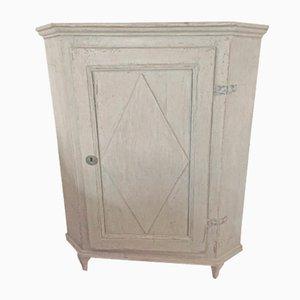 Antique Gustavian Corner Cabinet