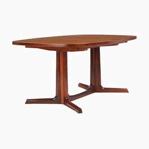 Extendable Rosewood Dining Table by Gudme Møbelfabrik for Gudme Møbelfabrik, 1950s