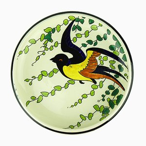 Art Deco Decorative Plate by Charles Catteau for Keramis, 1930s