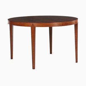 Table de Salle à Manger à Rallonge en Palissandre par Severin Hansen Jr pour Haslev Møbelsnedkeri, années 50