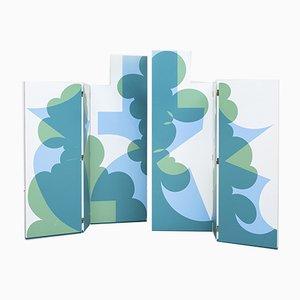 Raumteiler aus Sperrholz von Giacomo Balla für Gavina, 1970er, 3er Set