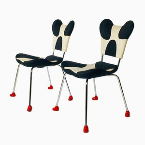 Model Garriri Side Chairs by Javier Mariscal for Moroso, 1980s, Set of 2