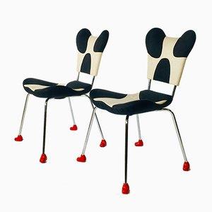 Modell Garriri Beistellstühle von Javier Mariscal für Moroso, 1980er, 2er Set