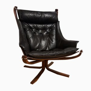 Mid-Century Lounge Chair by Sigurd Russell for Poltrona Frau