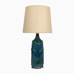 Dänische Tischlampe aus Keramik von Noomi Backhausen für Søholm, 1960er
