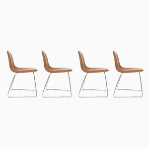 Dining Chairs by Boris Berlin & Poul Christiansen for Gubi, 2000s, Set of 4