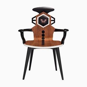 Stuhl mit niedriger Rückenlehne von Antonella Chiaro e Lucia Damerino für Estemporaneo