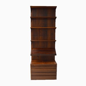 Danish Rosewood Royal System Wall Unit by Poul Cadovius for Cado, 1960s
