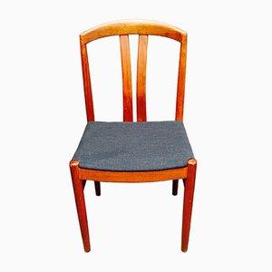 Scandinavian Modern Teak Dining Chairs by Johansson for Soner, 1950s, Set of 4