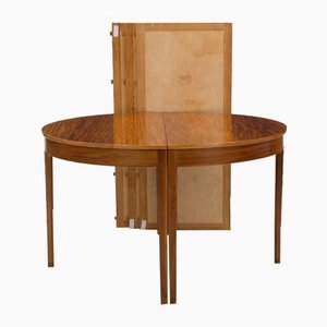 Mahogany and Rosewood Dining Table by Ole Wanscher for AJ Iversen, 1950s