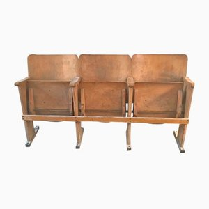 Vintage Theater Bench, 1960s