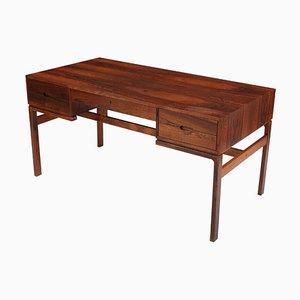 Rosewood Desk by Arne Wahl Iversen for Arne Wahl Iversen, 1950s