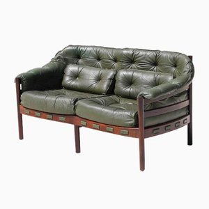 Mid-Century 2-Seater Sofa by Arne Norell for Coja