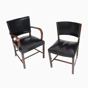 Lounge Chairs by Fritz Hansen for Vitra, 1942, Set of 2