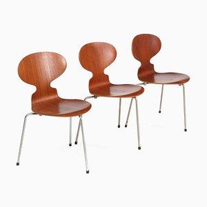 Silla Ant de Arne Jacobsen para Fritz Hansen, años 50