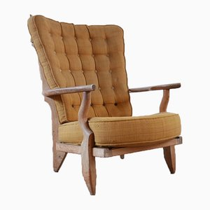 Mid-Century Model Grand Repos Armchair by Guillerme et Chambron