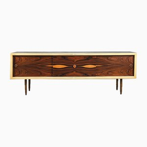 Mid-Century Swedish Rosewood and Birch Sideboard, 1960s