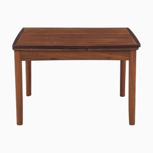 Extendable Rosewood Coffee Table from Poul Hundevad, 1950s
