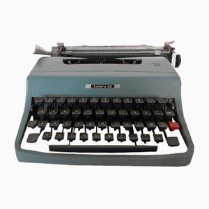 Máquina de escribir italiana vintage de Olivetti, años 60