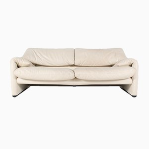 Model Maralunga Sofa by Vico Magistretti for Cassina, 2000s