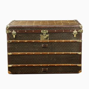 Vintage Mail Trunk from Goyard, 1920s