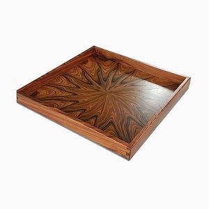 Tablett aus Palisander von Sno Original Furniture