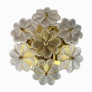 Mid-Century Glass Sconce from Ernst Palme