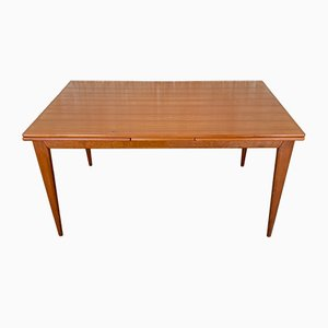 Mid-Century Teak Model 254 Dining Table by Niels Otto Møller for J.L. Møllers