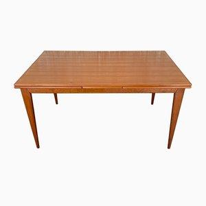 Table de Salle à Manger Modèle 254 Mid-Century en Teck par Niels Otto Møller pour J.L. Møllers
