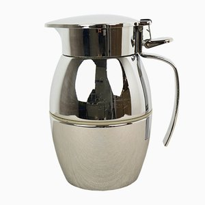 German Silver Plated Model Thermolord Jug by Wolfgang von Wersin for Erhard & Söhne, 1950s