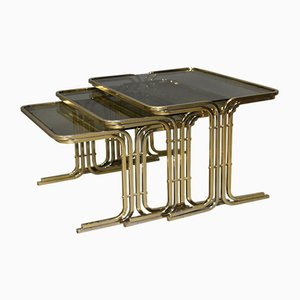 Tables Gigognes Mid-Century, Italie, 1970s