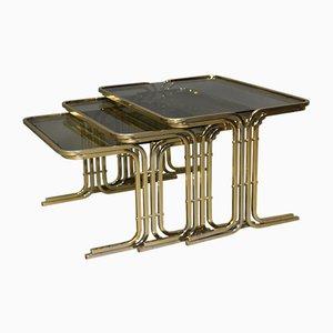 Tavolini ad incastro Mid-Century, Italia, anni '70