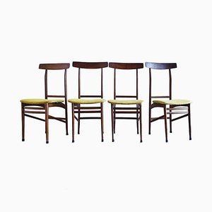 Mid-Century Italian Side Chairs, Set of 4