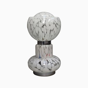 Large Italian Murano Glass Table Lamp, 1970s
