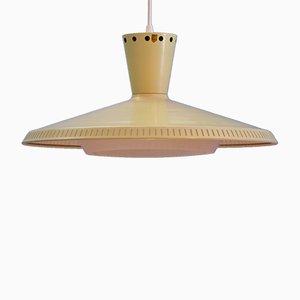 Lámpara de techo modelo NB92 holandesa de Louis C. Kalff para Philips, años 50