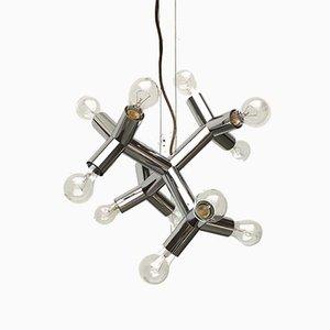 Lampe à Suspension Atomic 12 HL Space Age Mid-Century de J.T. Kalmar, Autriche, 1960s