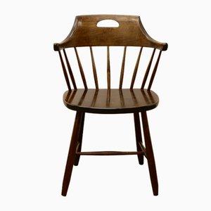 Modell Småland Esszimmerstühle aus Holz von Yngve Ekström für Stolab, 1969, 5er Set