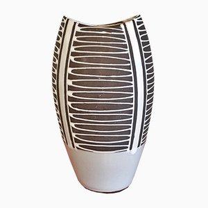 Jarrón modelo Haiger de cerámica de Liesel Spornhauer para Schlossberg Keramik, años 50